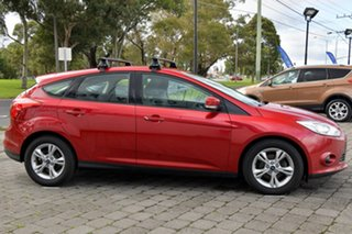 2012 Ford Focus LW MkII Trend PwrShift Red 6 Speed Sports Automatic Dual Clutch Hatchback.