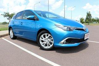 2016 Toyota Corolla ZRE172R Ascent S-CVT Blue Gem 7 Speed Automatic Hatchback.