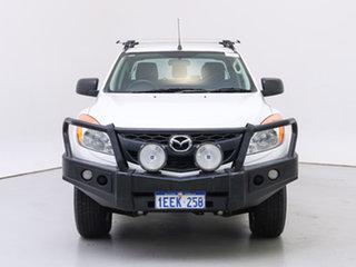 2013 Mazda BT-50 MY13 XT (4x4) White 6 Speed Automatic Dual Cab Utility.