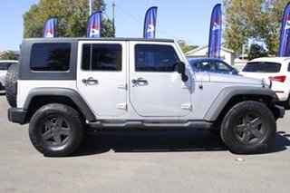 2010 Jeep Wrangler JK MY2010 Unlimited Sport Silver 6 Speed Manual Softtop.