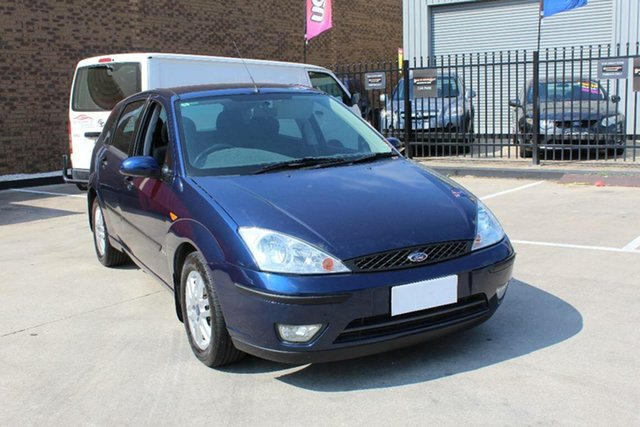 Used Ford Focus LR SR Hoppers Crossing, 2004 Ford Focus LR SR Blue 4 Speed Automatic Hatchback