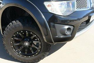 2013 Mitsubishi Triton MN MY13 GLX Double Cab Black 5 Speed Manual Utility.