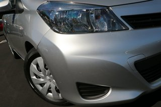 2011 Toyota Yaris NCP131R YRS Silver 4 Speed Automatic Hatchback.