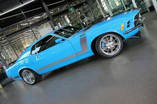1970 Ford Mustang Fastback Blue 3 Speed Automatic Fastback
