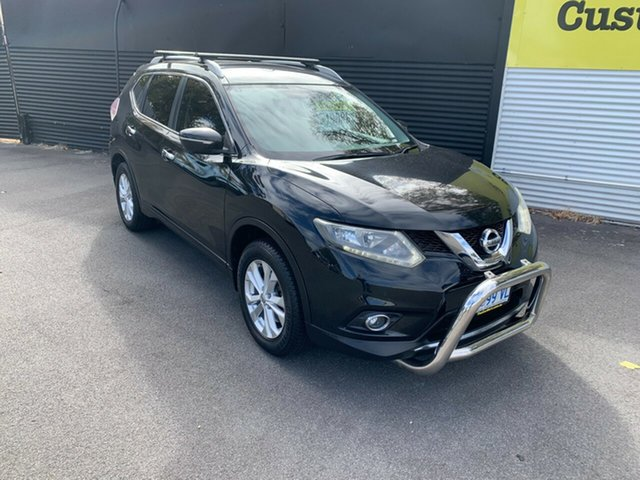 Used Nissan X-Trail T32 ST-L X-tronic 2WD Launceston, 2014 Nissan X-Trail T32 ST-L X-tronic 2WD Black 7 Speed Constant Variable Wagon