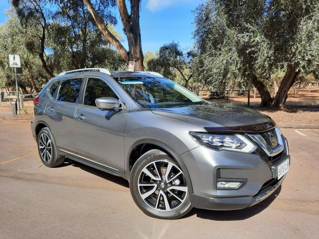 Used Nissan X-Trail T32 Series II Ti X-tronic 4WD Adelaide, 2019 Nissan X-Trail T32 Series II Ti X-tronic 4WD Grey 7 Speed Constant Variable Wagon