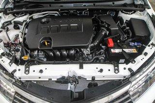 2014 Toyota Corolla ZRE172R ZR Glacier White 7 Speed CVT Auto Sequential Sedan
