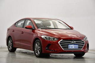 2018 Hyundai Elantra AD MY18 Active Red 6 Speed Sports Automatic Sedan