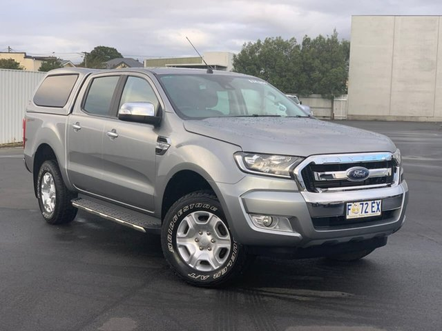 Used Ford Ranger PX MkII XLT Double Cab 4x2 Hi-Rider Moonah, 2016 Ford Ranger PX MkII XLT Double Cab 4x2 Hi-Rider 6 Speed Sports Automatic Utility