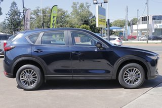 2017 Mazda CX-5 KF2W7A Maxx SKYACTIV-Drive FWD Sport Deep Crystal Blue 6 Speed Sports Automatic.