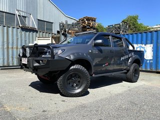 2011 Toyota Hilux KUN26R MY10 SR Grey 5 Speed Manual Cab Chassis