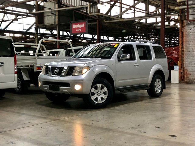 Used Nissan Pathfinder R51 MY07 ST-L Mile End South, 2007 Nissan Pathfinder R51 MY07 ST-L Silver 5 Speed Sports Automatic Wagon