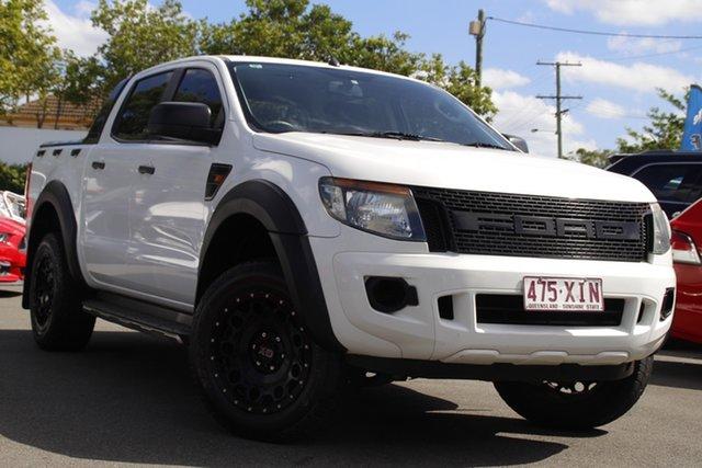 Used Ford Ranger PX XL Mount Gravatt, 2013 Ford Ranger PX XL White 6 Speed Sports Automatic Utility