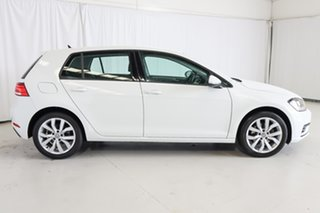 2017 Volkswagen Golf 7.5 MY17 110TSI DSG Trendline White 7 Speed Sports Automatic Dual Clutch.