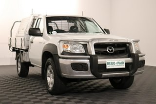 2011 Mazda BT-50 UNY0E4 DX White 5 speed Manual Cab Chassis.
