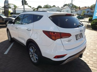 2015 Hyundai Santa Fe DM2 MY15 Highlander White 6 Speed Sports Automatic Wagon