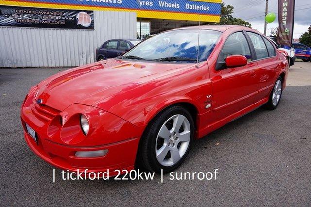Used Ford Falcon AU III XR8 Dandenong, 2002 Ford Falcon AU III XR8 Venom 4 Speed Automatic Sedan