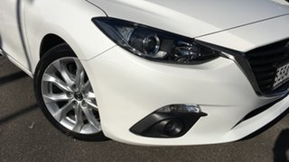 2015 Mazda 3 BM5238 SP25 SKYACTIV-Drive White 6 Speed Sports Automatic Sedan.