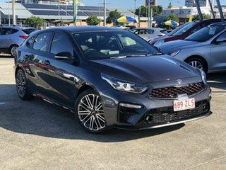 2018 Kia Cerato BD MY19 GT DCT Grey 7 Speed Sports Automatic Dual Clutch Hatchback.