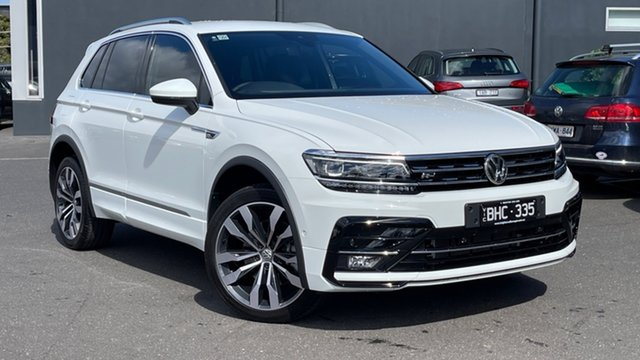 Used Volkswagen Tiguan 5N MY20 162TSI DSG 4MOTION Highline Moorabbin, 2020 Volkswagen Tiguan 5N MY20 162TSI DSG 4MOTION Highline White 7 Speed