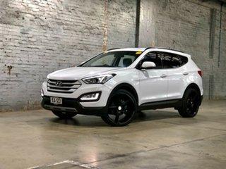 2015 Hyundai Santa Fe DM2 MY15 Active White 6 Speed Sports Automatic Wagon.