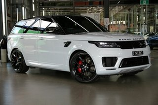 2019 Land Rover Range Rover Sport L494 19.5MY SDV8 HSE Dynamic White 8 Speed Sports Automatic Wagon.