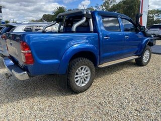 2012 Toyota Hilux KUN26R MY12 SR5 (4x4) Tidal Blue 5 Speed Manual Dual Cab Pick-up