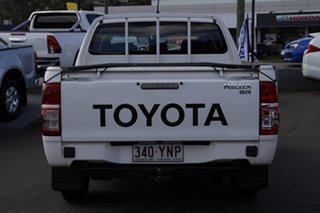 2014 Toyota Hilux GGN15R MY14 SR Double Cab 4x2 White 5 Speed Automatic Utility