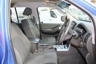 2011 Nissan Navara D40 ST-X (4x4) Blue 5 Speed Automatic King Cab Chassis