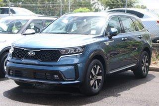 2020 Kia Sorento MQ4 MY21 Sport Mineral Blue 8 Speed Sports Automatic Wagon.