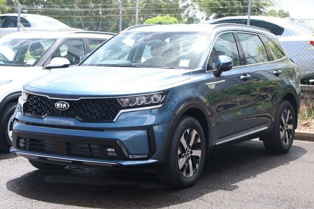 New Kia Sorento MQ4 MY21 Sport Toowoomba, 2020 Kia Sorento MQ4 MY21 Sport Mineral Blue 8 Speed Sports Automatic Wagon