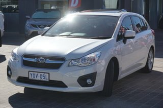 2013 Subaru Impreza G4 MY13 2.0i Lineartronic AWD White 6 Speed Constant Variable Hatchback