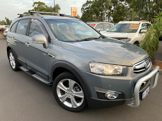 Used Holden Captiva CG Series II 7 AWD LX Bunbury, 2012 Holden Captiva CG Series II 7 AWD LX Grey 6 Speed Sports Automatic Wagon