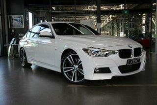 2017 BMW 3 Series F30 LCI 330i M Sport White 8 Speed Sports Automatic Sedan.