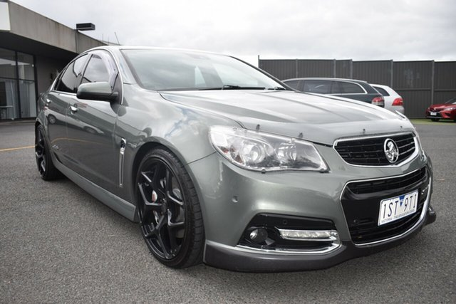 Used Holden Commodore VF MY14 SS V Redline Wantirna South, 2013 Holden Commodore VF MY14 SS V Redline Prussian Steel 6 Speed Manual Sedan
