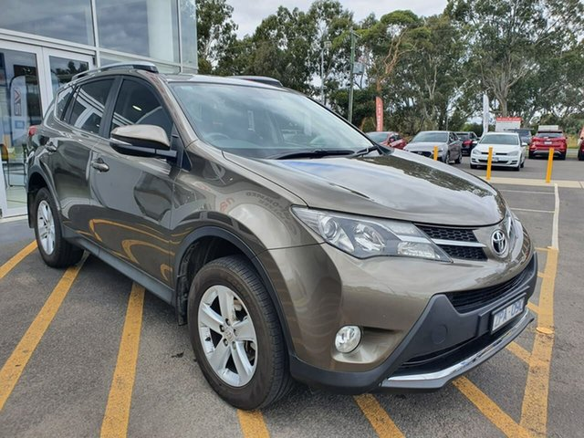 Used Toyota RAV4 ASA44R GXL AWD Epsom, 2013 Toyota RAV4 ASA44R GXL AWD Brown 6 Speed Sports Automatic Wagon