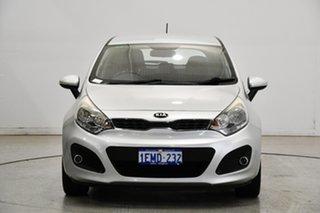 2013 Kia Rio UB MY14 SI Bright Silver 6 Speed Sports Automatic Hatchback.