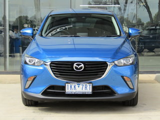2017 Mazda CX-3 DK2W7A Maxx SKYACTIV-Drive Blue 6 Speed Sports Automatic Wagon.