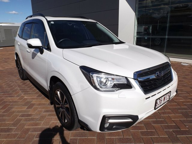 Used Subaru Forester S4 MY16 2.5i-S CVT AWD Toowoomba, 2016 Subaru Forester S4 MY16 2.5i-S CVT AWD Crystal White 6 Speed Constant Variable Wagon
