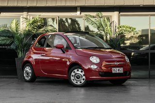 2014 Fiat 500C Series 3 S Dualogic Red 5 Speed Sports Automatic Single Clutch Convertible.