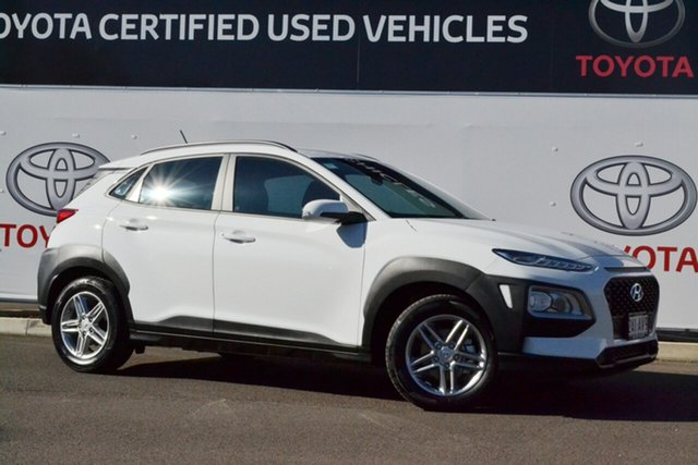 Pre-Owned Hyundai Kona OS.3 MY20 Active (FWD) Warwick, 2020 Hyundai Kona OS.3 MY20 Active (FWD) White 6 Speed Automatic Wagon