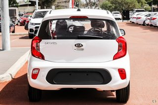 2020 Kia Picanto JA MY21 S White 5 Speed Manual Hatchback.
