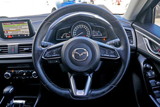 2017 Mazda 3 BN5438 SP25 SKYACTIV-Drive Black 6 Speed Sports Automatic Hatchback