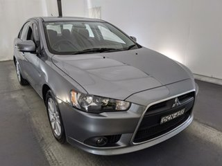 2015 Mitsubishi Lancer CJ MY15 LS White 6 Speed Constant Variable Sedan.