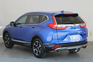 2017 Honda CR-V RW MY18 VTi-LX 4WD Blue 1 Speed Constant Variable Wagon.