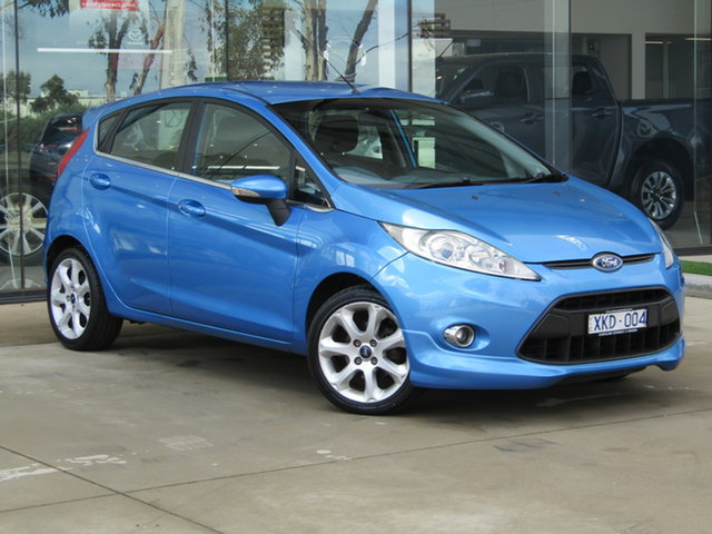 Used Ford Fiesta WS Zetec Ravenhall, 2009 Ford Fiesta WS Zetec Blue 5 Speed Manual Hatchback