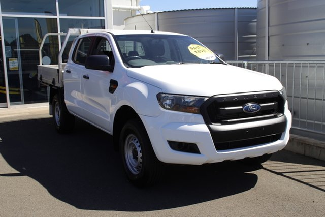 Used Ford Ranger PX MkII XL Toowoomba, 2016 Ford Ranger PX MkII XL White 6 Speed Manual Cab Chassis