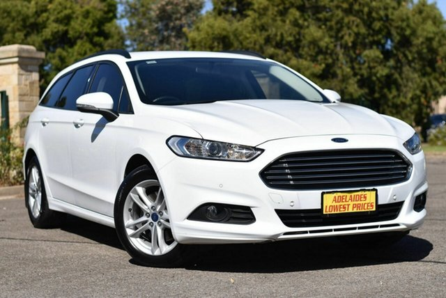 Used Ford Mondeo MD 2017.00MY Ambiente Enfield, 2017 Ford Mondeo MD 2017.00MY Ambiente White 6 Speed Sports Automatic Dual Clutch Wagon