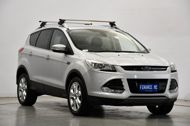Used Ford Kuga TF Trend AWD Victoria Park, 2014 Ford Kuga TF Trend AWD Silver 6 Speed Sports Automatic Wagon