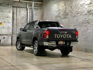 2016 Toyota Hilux GUN126R SR5 Double Cab Grey 6 Speed Sports Automatic Utility
